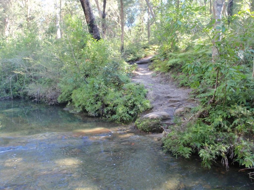 crossing Joe Crafts creek