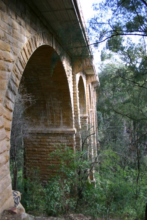Knapsack Viaduct from the side