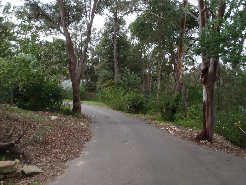 Driveway to Plateau Pde