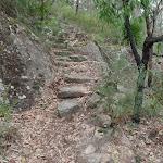 Rock steps near Florabella Pass Int. (73668)