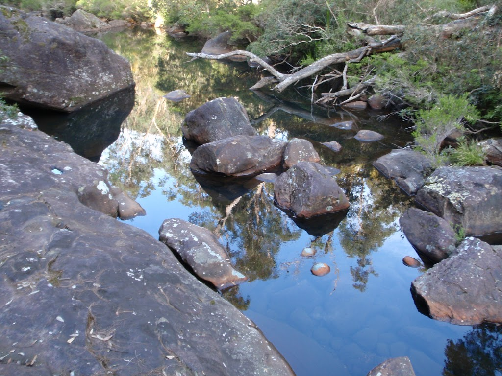 Glenbrook Creek below Martin's Lookout