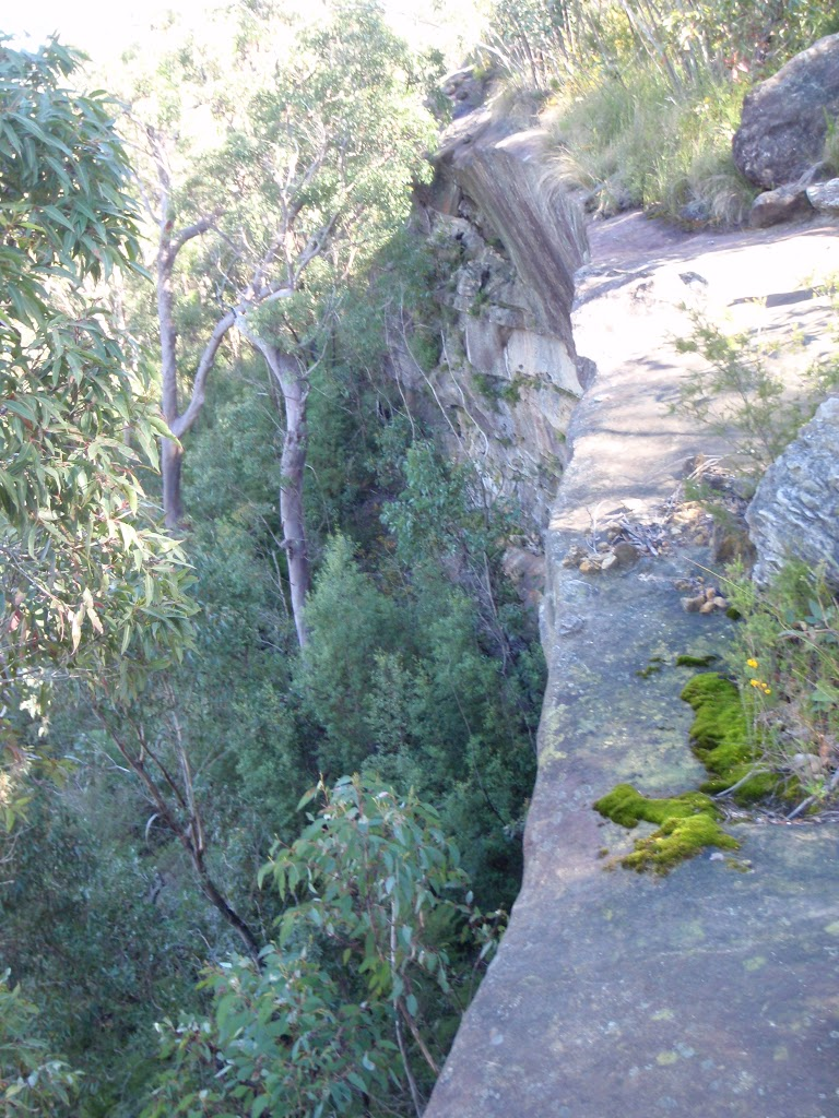 Cliffs at the lookout