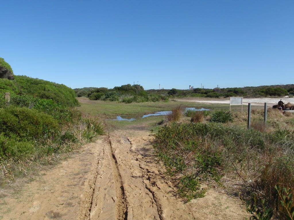 Track just south of Tabbigai Gap