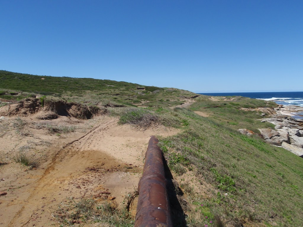 following disused pipeline