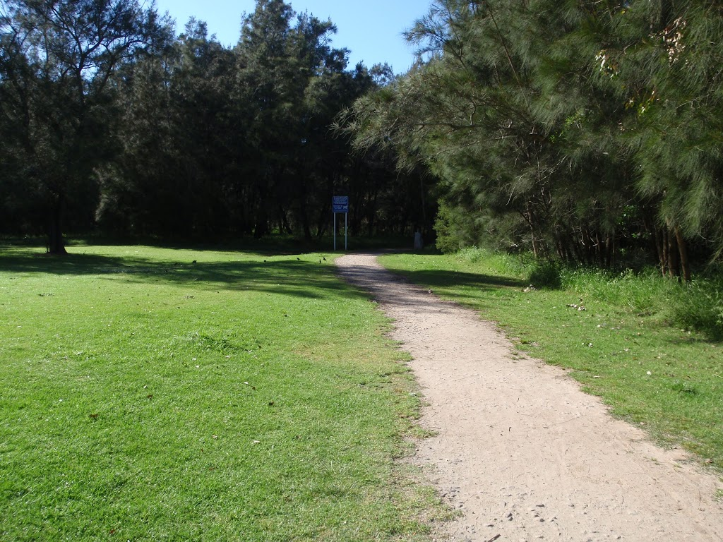 following the path through the lambeth reserve