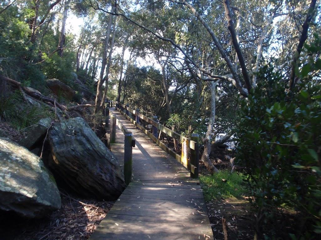 the salt pan creek boardwalk