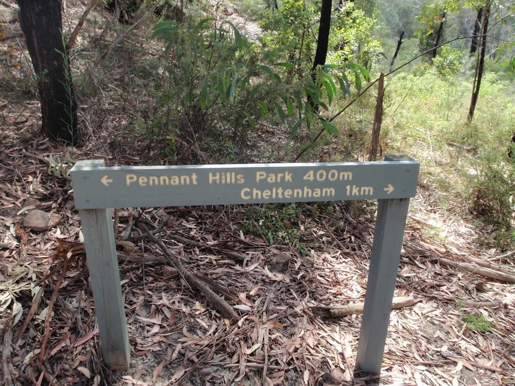 Sign near Pennant Hills Park (77890)