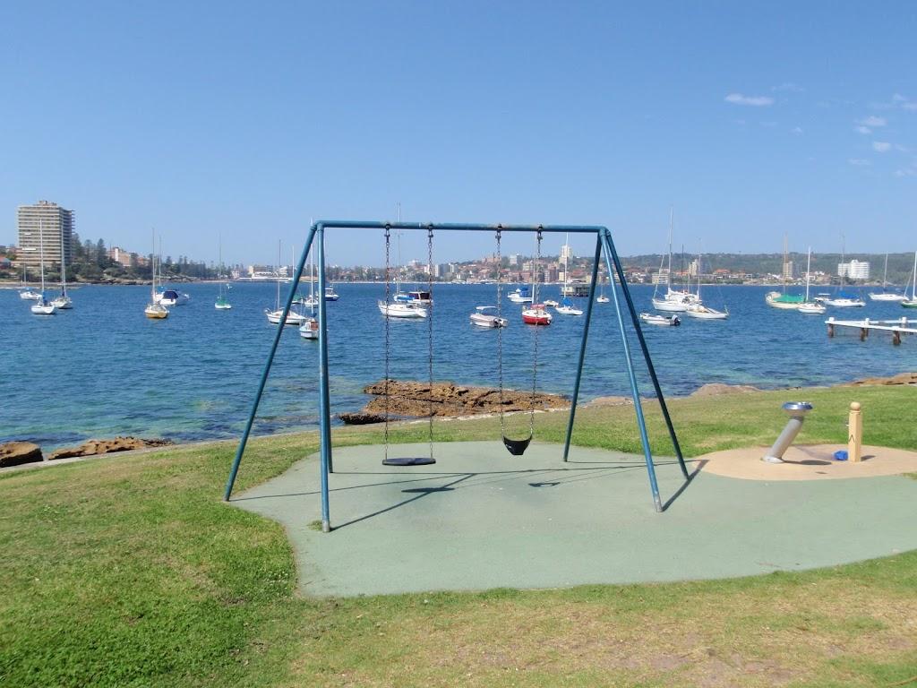 Swings facing Manly