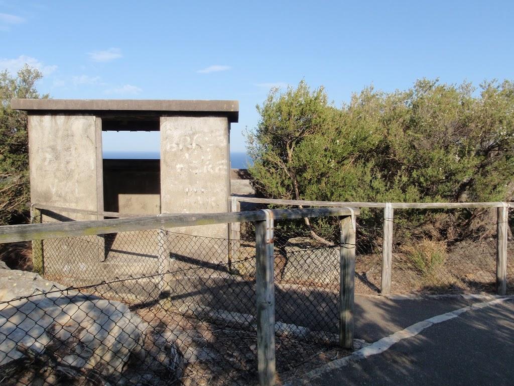 old gun emplacement bunker