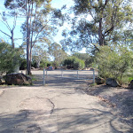 Gate to car park (79213)