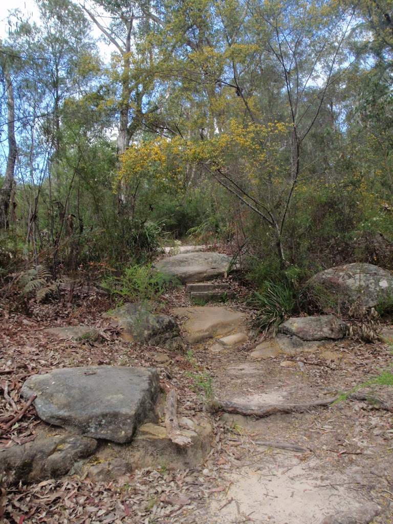 Rocky steps to Pennant Hills