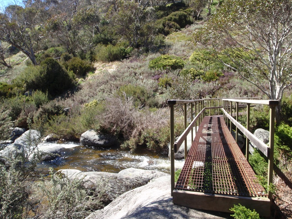 Crossing the Thredbo River