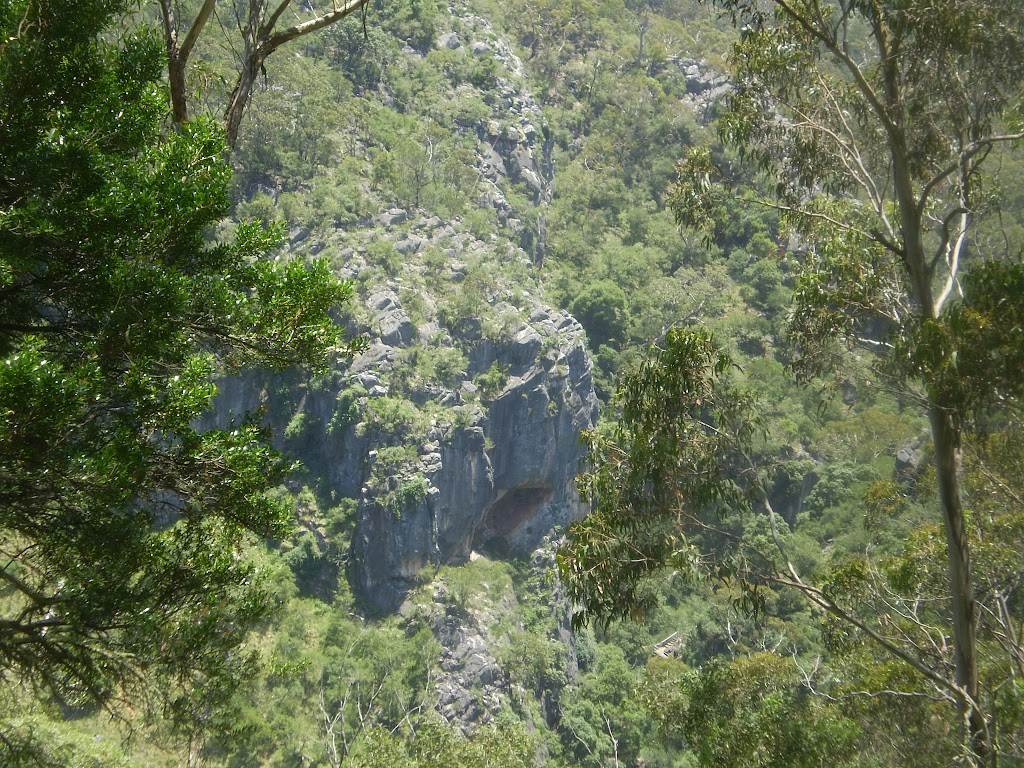 Looking down into the Jenolan Valley (8420)