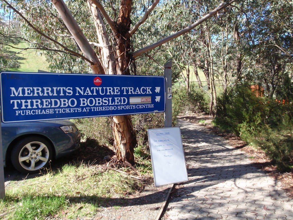 Bottom of the merrits nature track