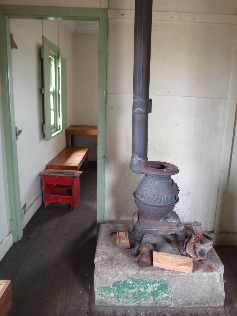 Inside Seamans Hut