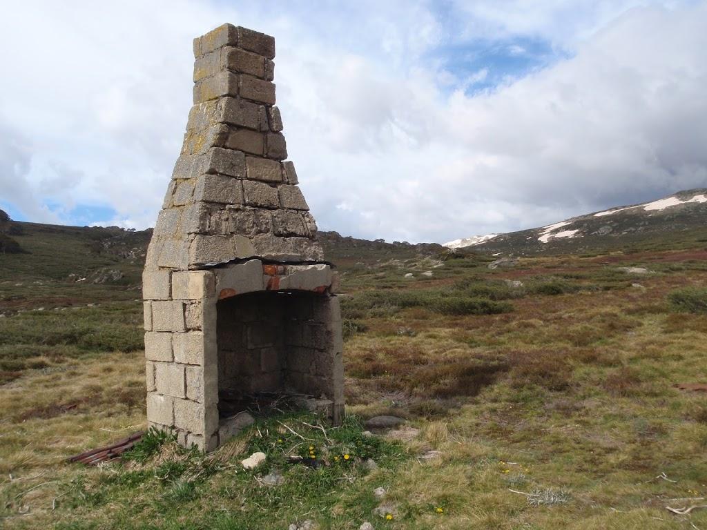 Foremans hut ruins