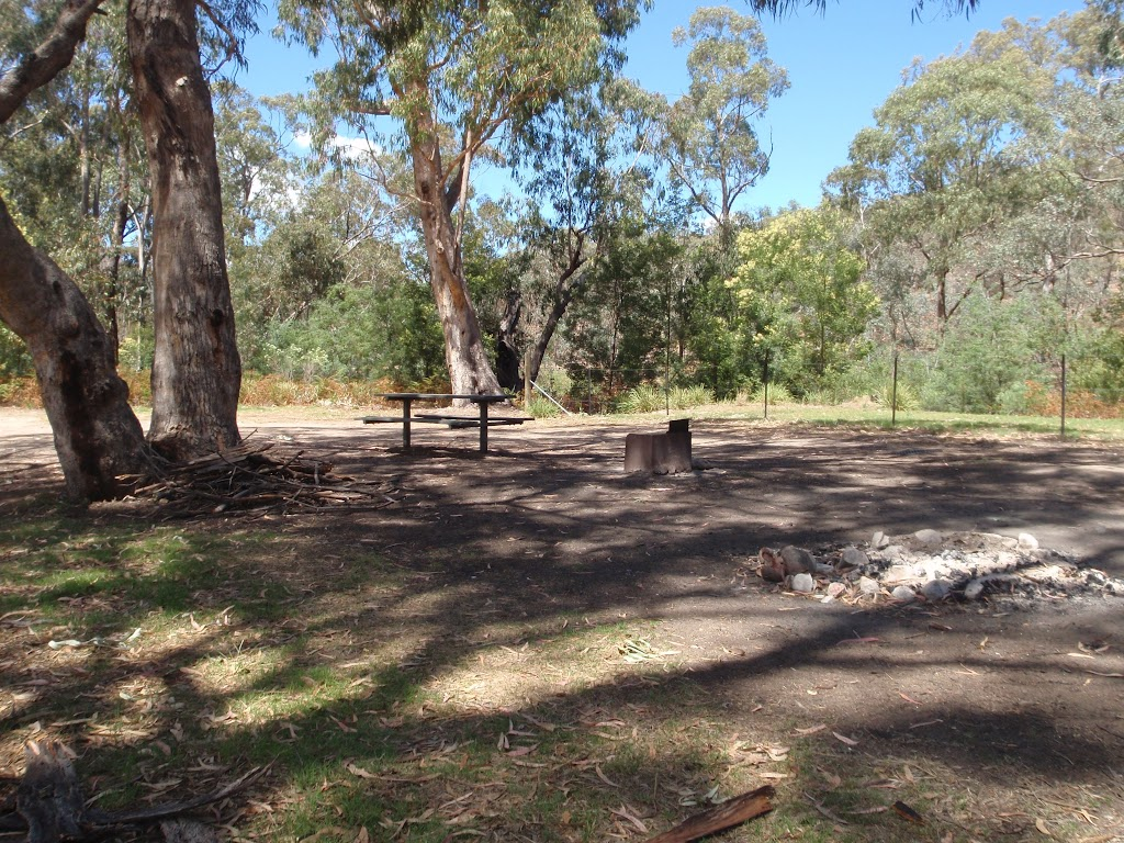 Upper campsite (away from river and road)