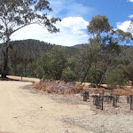 Driving into Pinch River Camping area