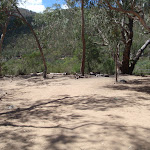 Open area at Running Waters campsite