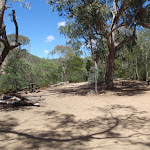 Clearing at Running Waters Camping area