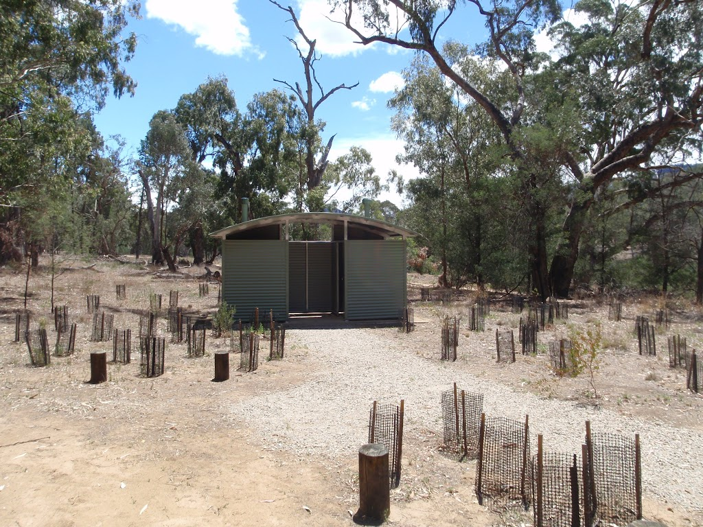 Toilet at Willis Camping Area