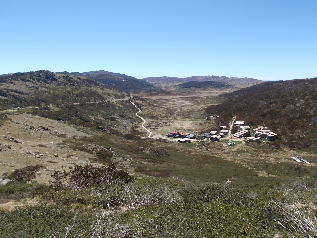 Views down over the Charlotte Pass Village
