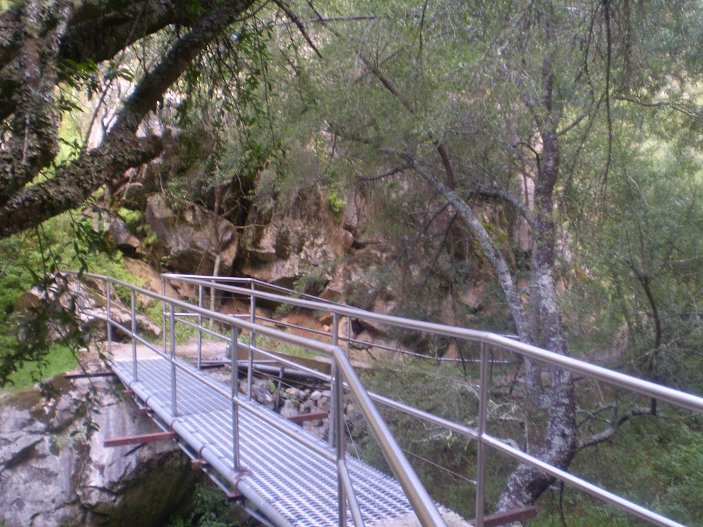 Crossing the Jenolan River