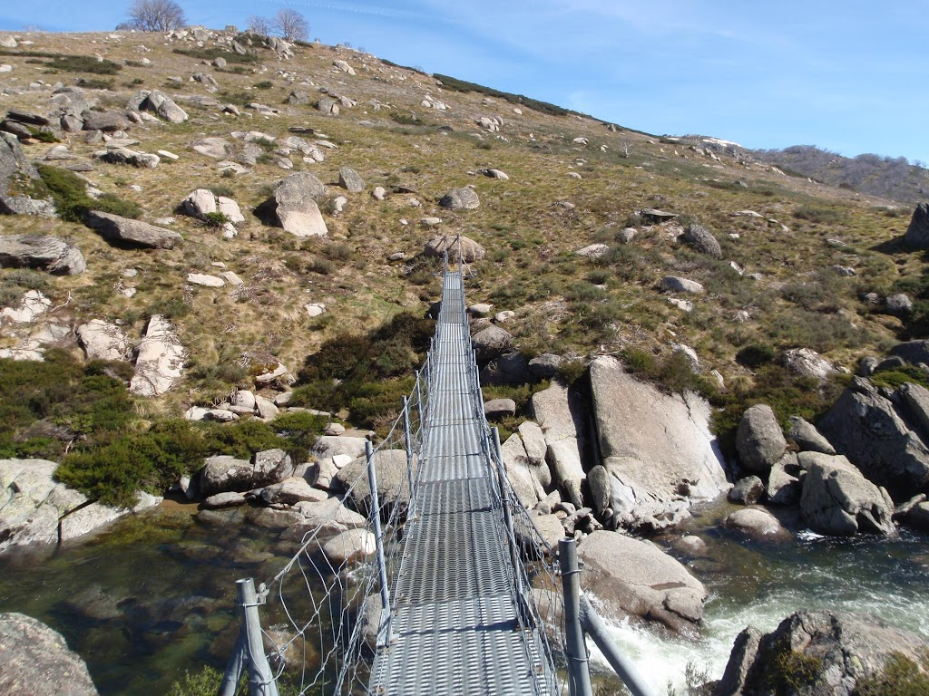 Suspension Bridge over the Snowy River