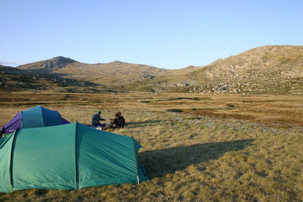 Camping at Wilkinsons Creek