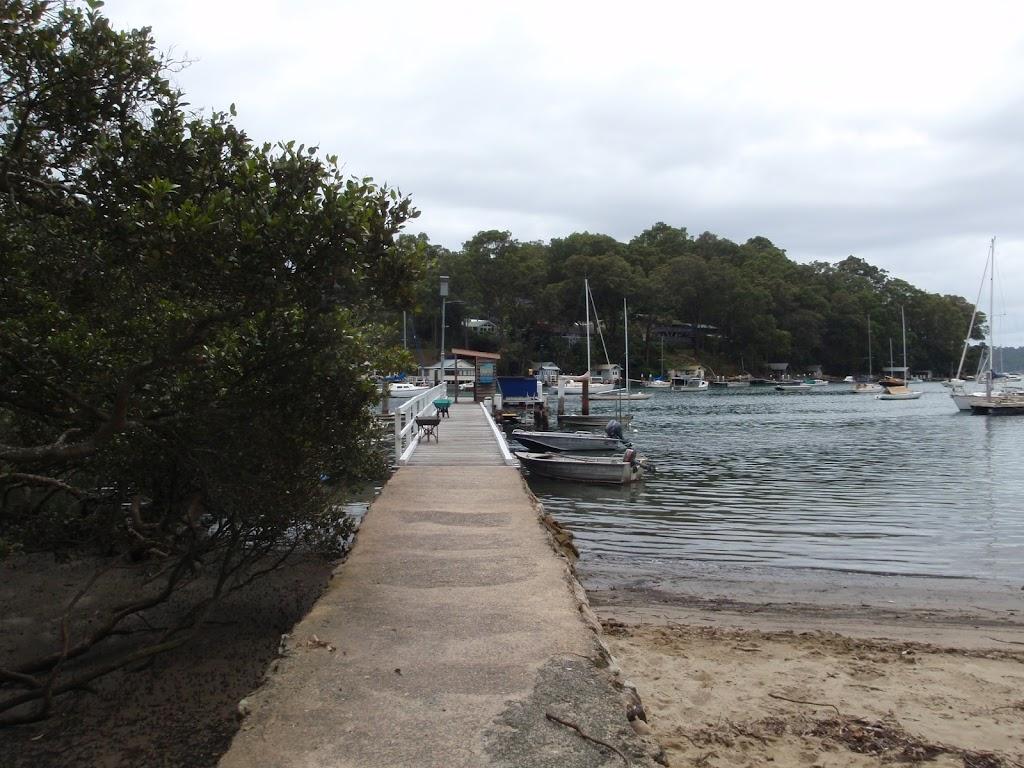 Public pier at Elvina Bay