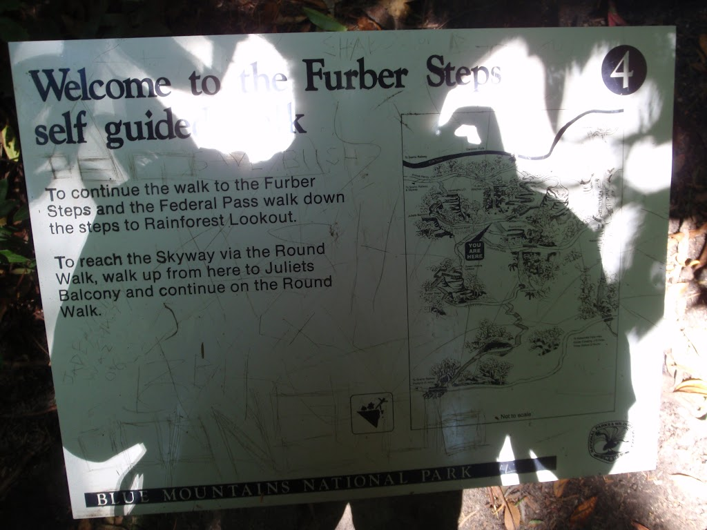 Furber Steps Info Sign (91732)