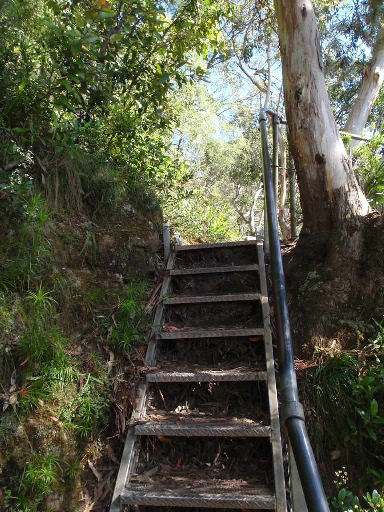Stairs above Furber Lookout