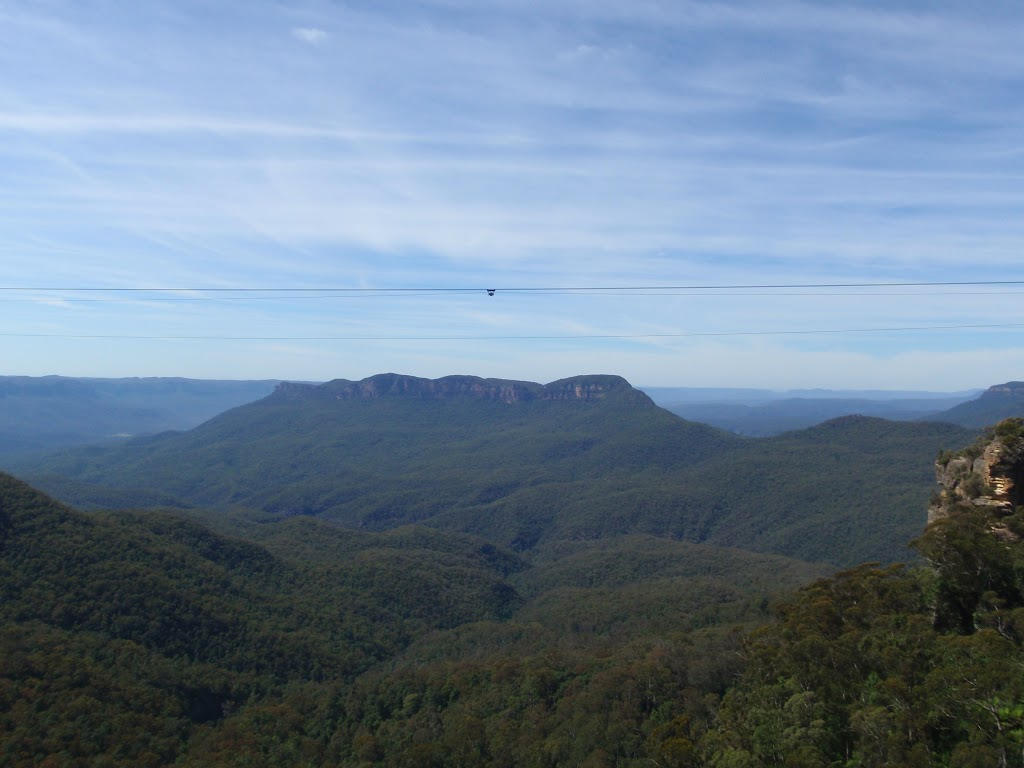 Mount solitary from Reids Plateau Picnic area