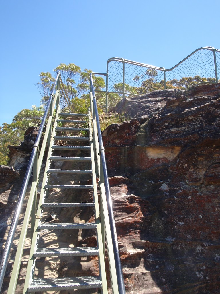 Staircase Looking up to the Lady Darley Lookout from the west (92401)