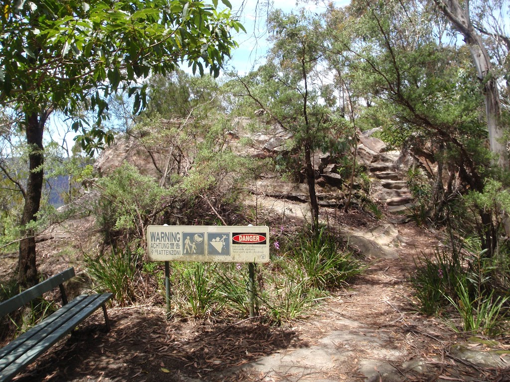 The track to Burrabarroo Lookout