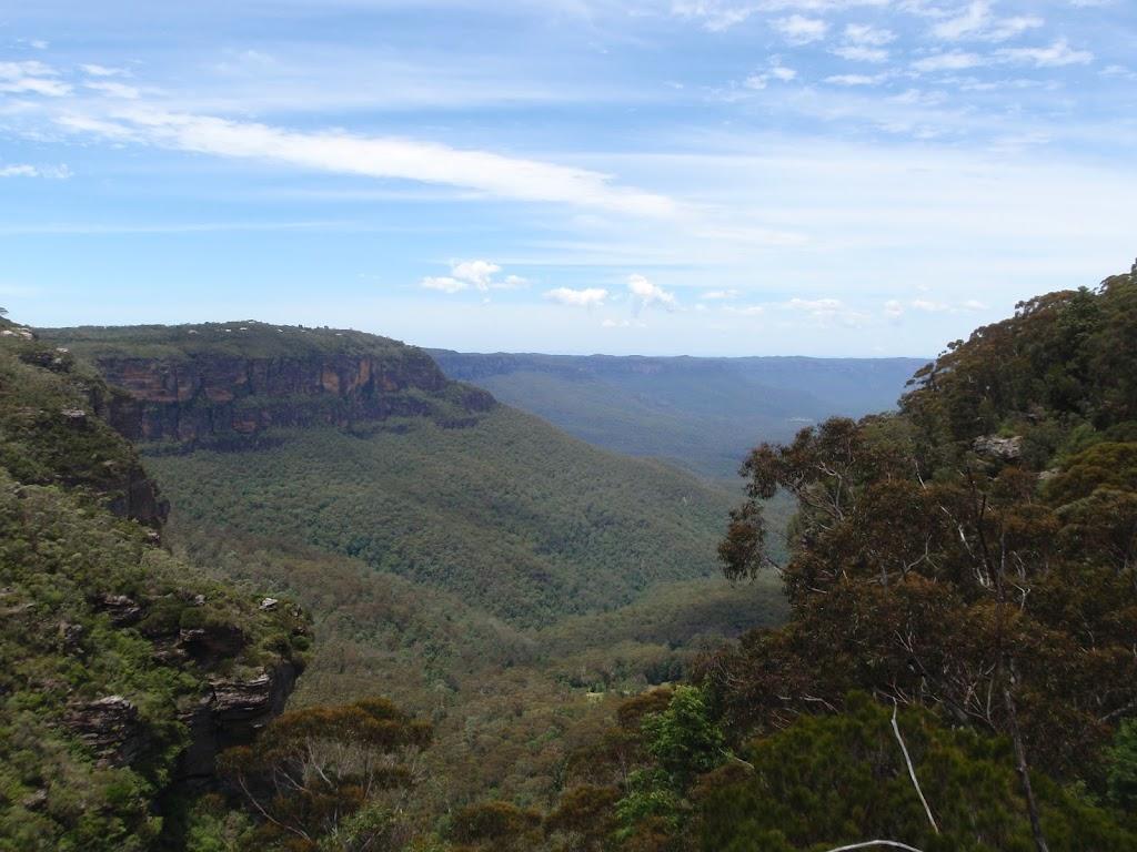 View from Burrabarroo Lookout