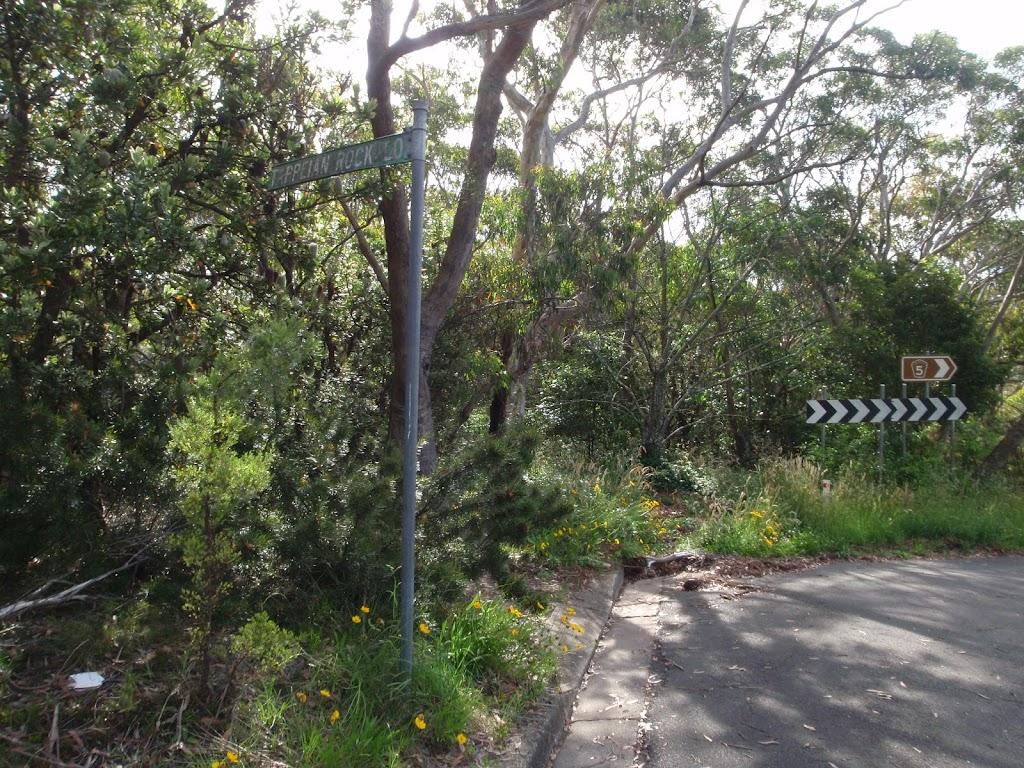 Tarpeian Rock signpost of Cliff drive