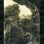 The Giant Stairway, Katoomba 1935 Harry Phillips