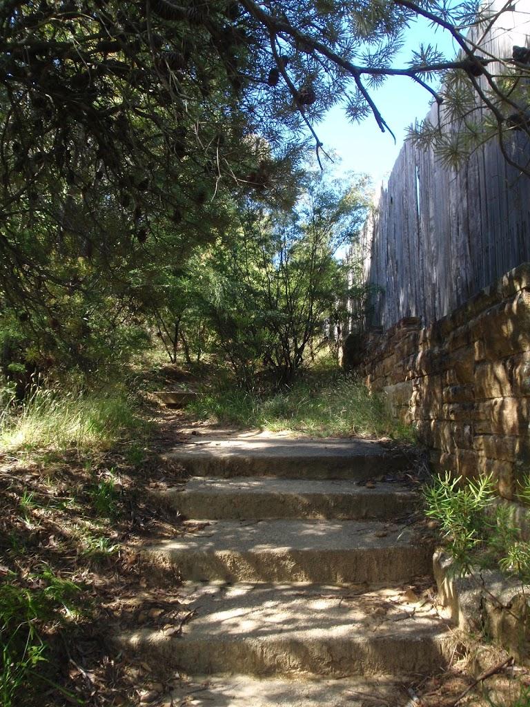 Steps on Elysian Rock track