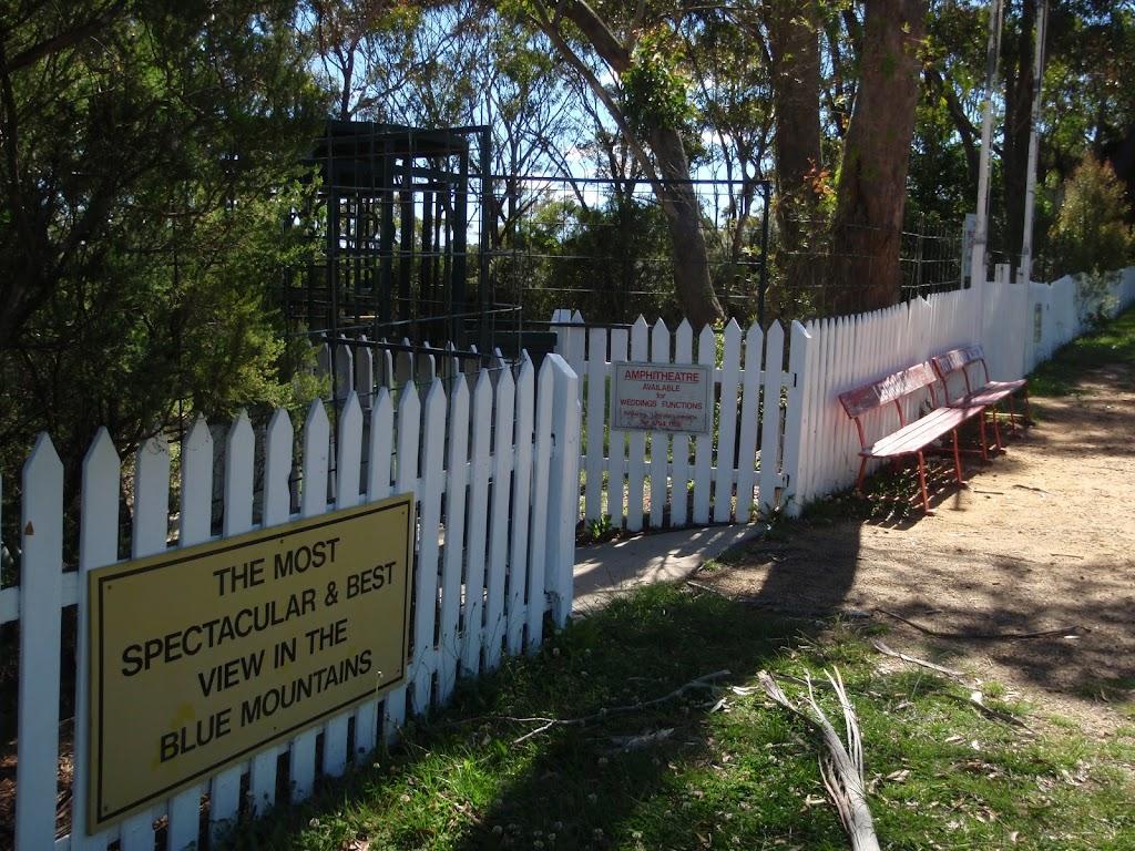 Entrance to Leuralla Park