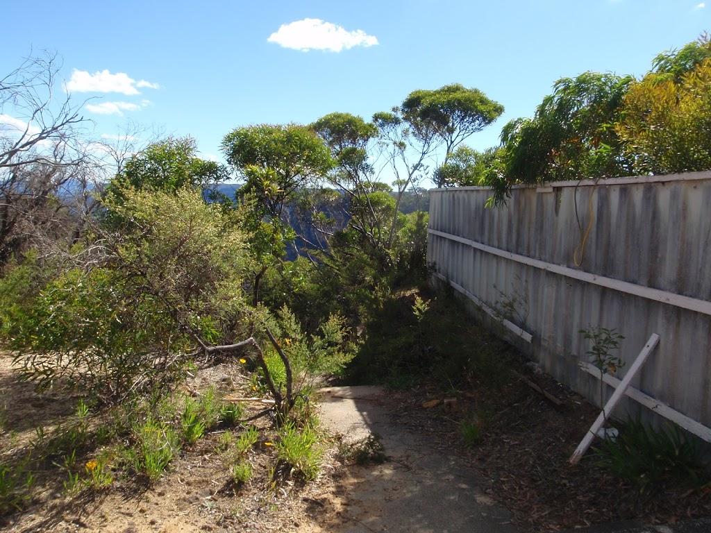 Fence along Olympian Track