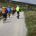 Summit track from Charlotte Pass is popular with cyclists and walkers (96661)