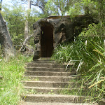 Stairs up to cave toilets (9686)