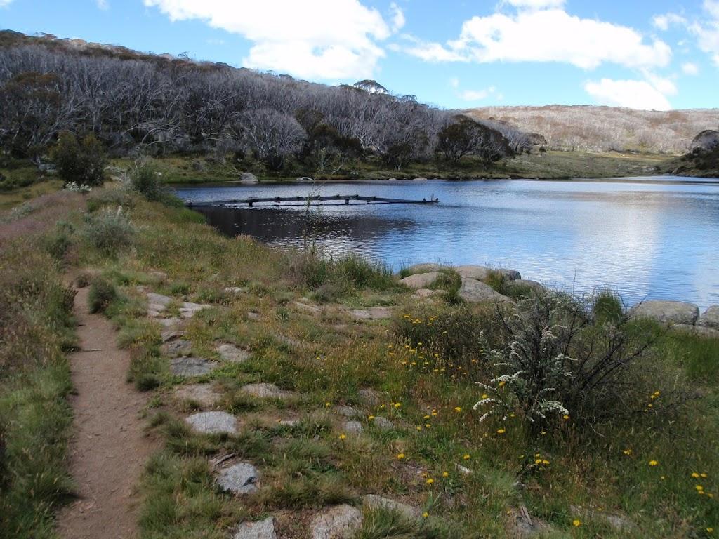 On the Dam wall of Rainbow Lake