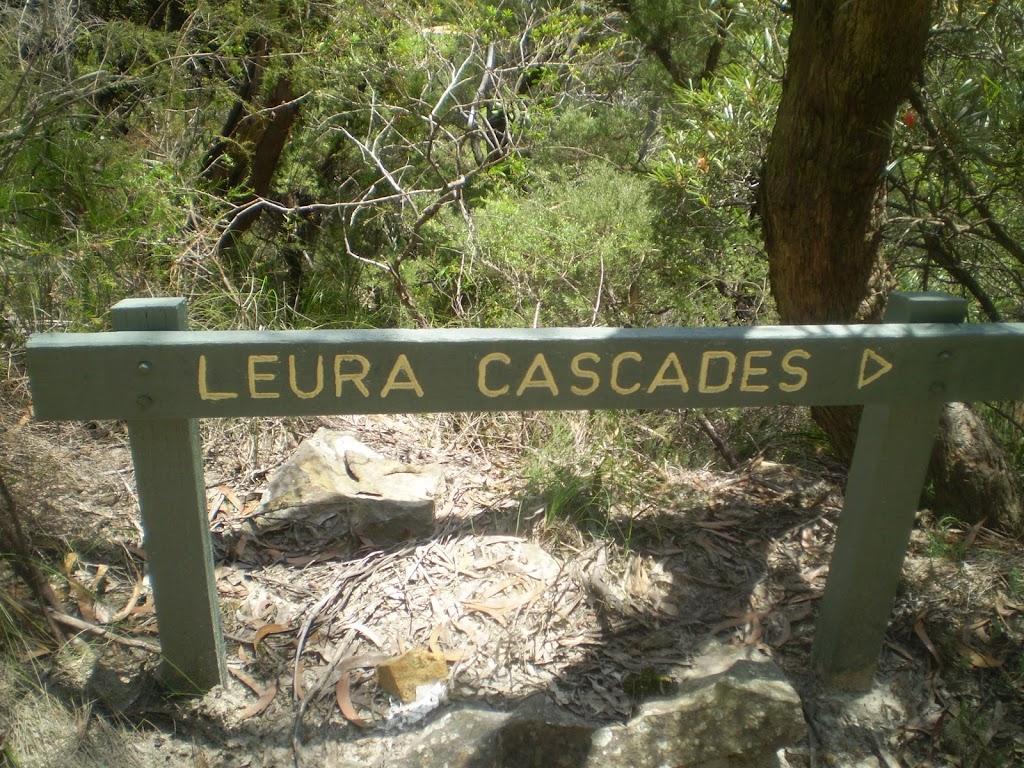 Leura Cascades Sign
