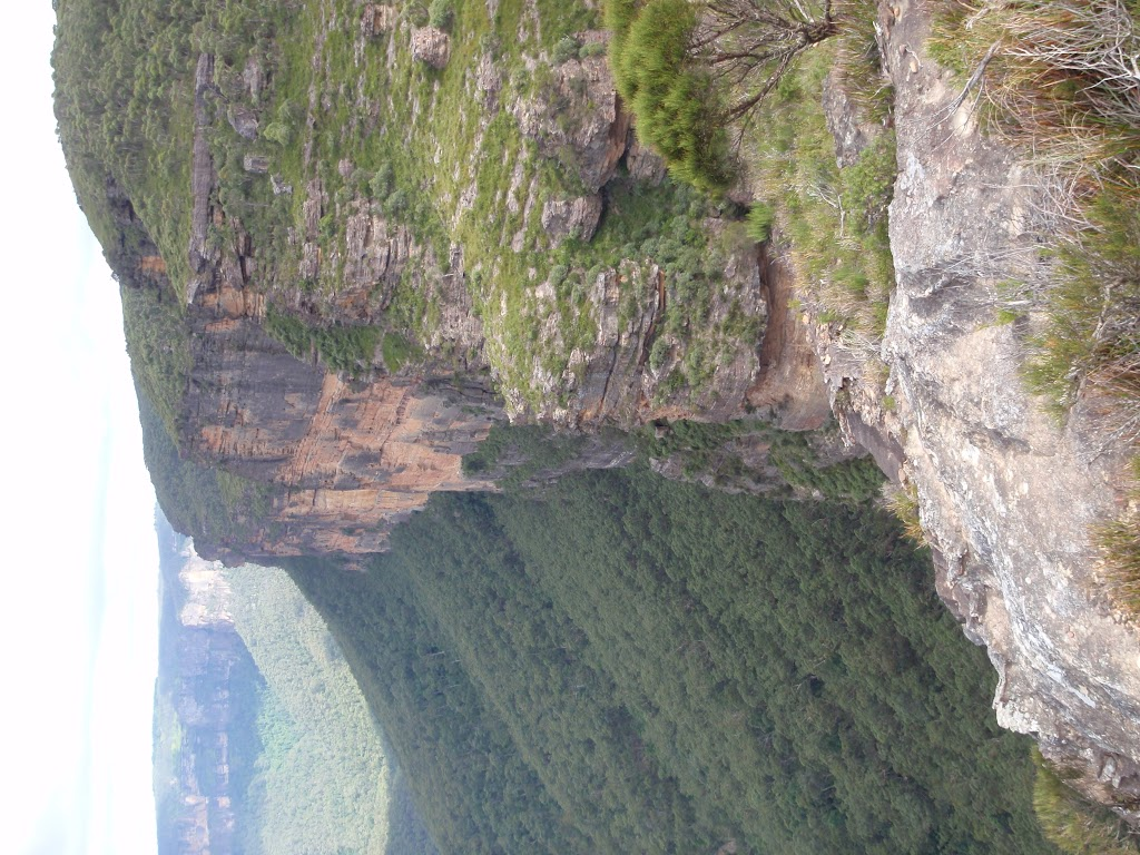 Govetts Ck Lookout view