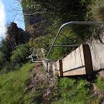 Railing below cliffs (98588)