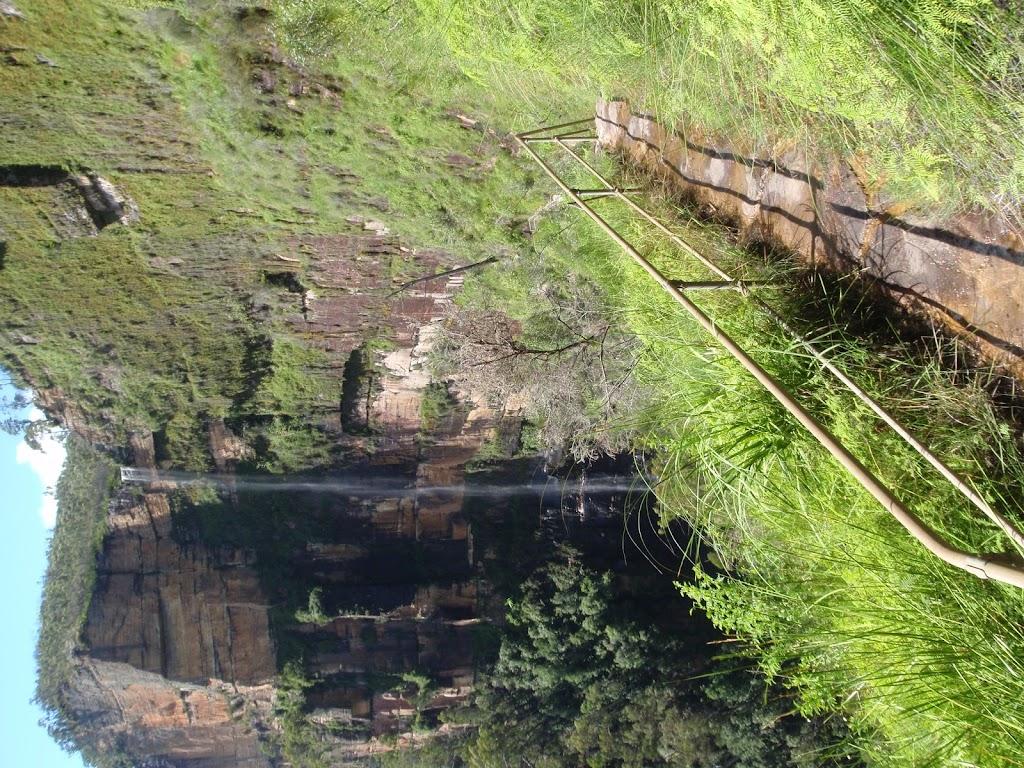 Track to Bridal Veil Falls