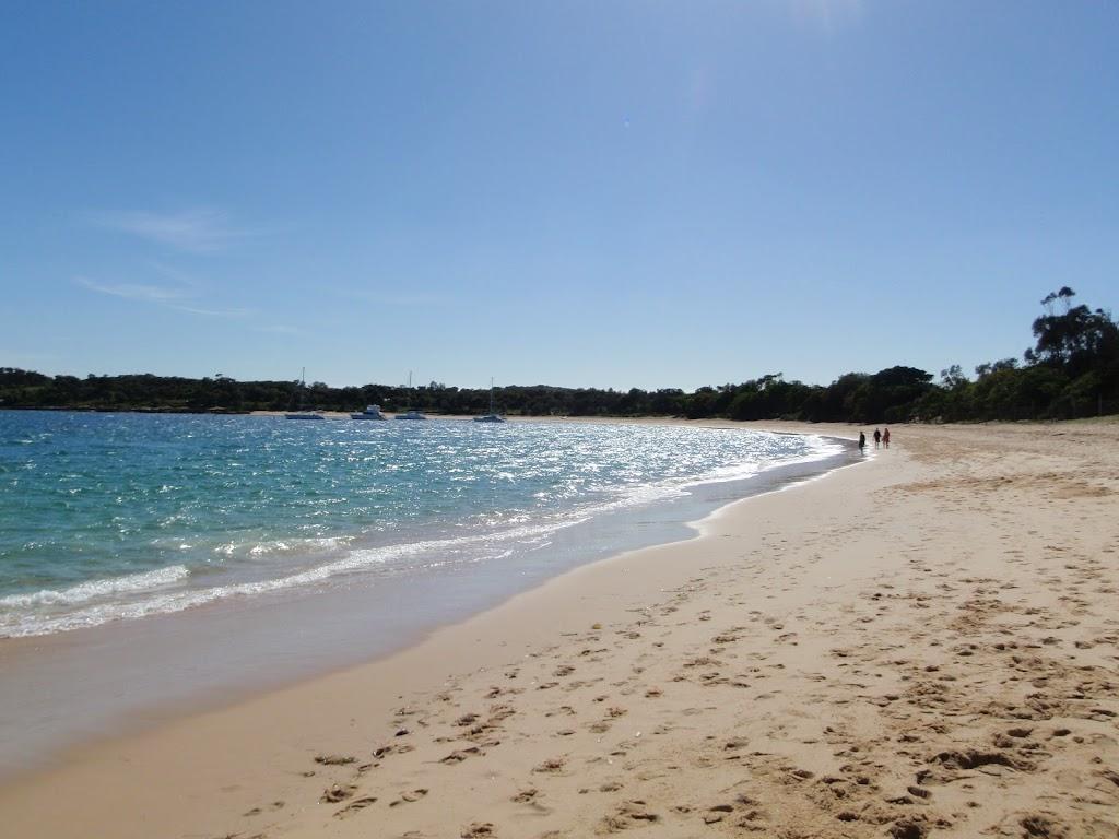 Walking along Jibbon Beach