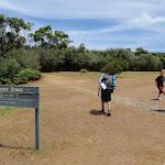 Coast Track walkers at Wattamolla